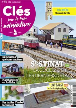 Clés pour le train miniature n° 49