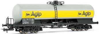 Wagon citerne à bogies AGIP