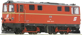 Locomotive diesel 2095 014-3 OBB analogique