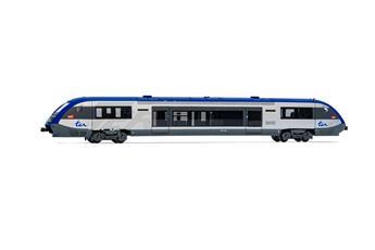 Wagon SNCF, autorail diesel X73630, TER petit logo bleu, ép V-VI