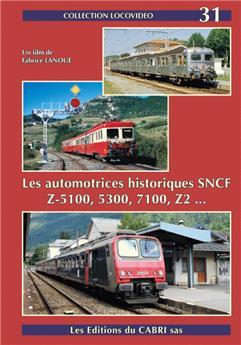 Les automotrices historiques SNCF