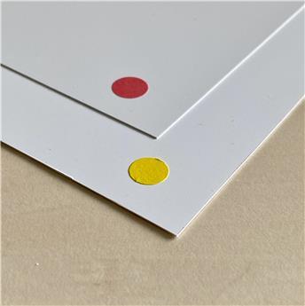 Carte plastique 200x350 mm 5/10ème