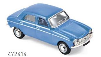 Véhicule Peugeot 204 - 1966 - Bleu pervenche