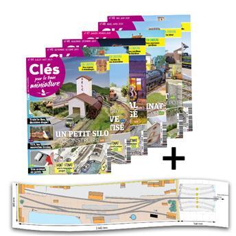 Lot Clés 8 : les n°44 à 49 + Plan de réseau