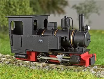 Locomotive 020 T Henshel Riesa noire châssis rouge