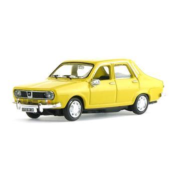 Véhicule Renault 12 - 1974 - Jaune citron