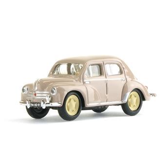 Véhicule Renault 4CV - 1955 - Beige tourterelle