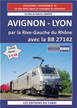 Avignon - Lyon par la Rive-Gauche du Rhône, avec la BB 27142 de Régiorail