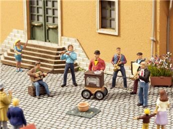Musiciens de rue - module sonore