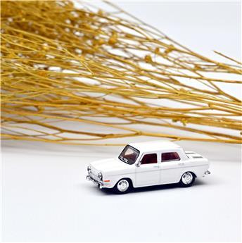 Véhicule Simca 1000 GLS - 1968 - Blanc Fontenoy