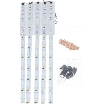 Kit de démarrage - Éclairage de voiture LED set 5 x 285 mm blanc chaud