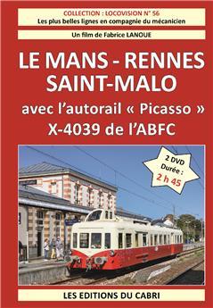 Le Mans - Rennes - Saint Malo - le pack de 2 DVD