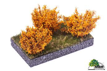 Petit buisson jaune foncé 4-6 cm