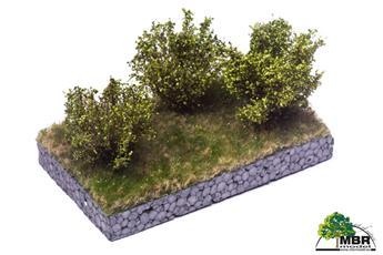 Petit buisson vert clair 4-6 cm