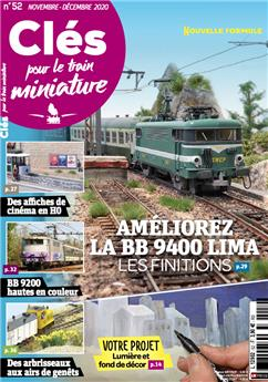 Clés pour le train miniature n° 52 version numérique