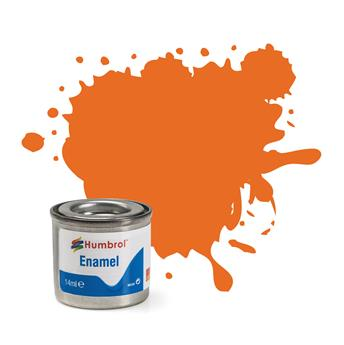 Peinture No 18 Orange