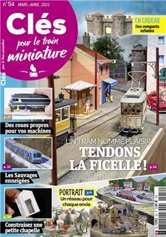 Clés pour le train miniature n° 54