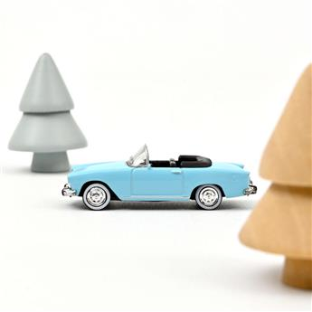 Véhicule Simca Aronde P60 océane - 1960 - Bleu ciel Capri
