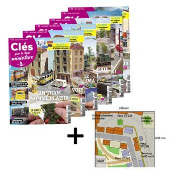 Lot Clés 9 : les n°50 à 55 + Plan de réseau
