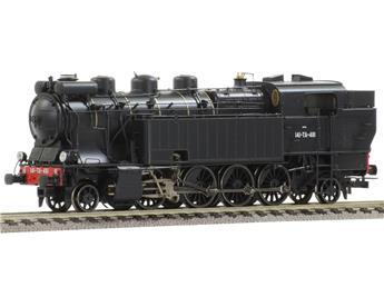 Locomotive à vapeur 141TA 481, livrée noire, ép III SNCF