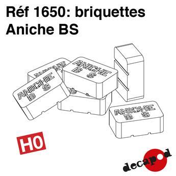 Briquettes Aniche BS