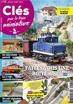 Clés pour le train miniature n° 56