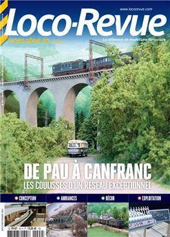 HSLR 80 (08/2021) : de Pau à Canfranc les coulisses d´un réseau exceptionnel