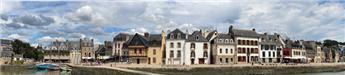 Fond de décor panoramique Saint Goustan 30 cm