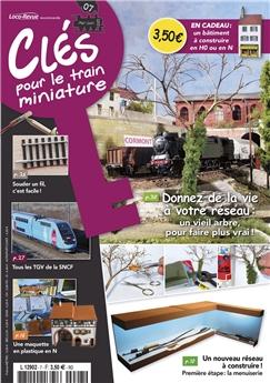 Clés pour le train miniature n° 7