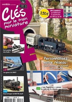 Clés pour le train miniature n° 8