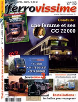 Ferrovissime n° 015 +  DVD Ferrovision 3
