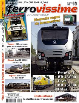 Ferrovissime n° 018 + DVD Ferrovision 4