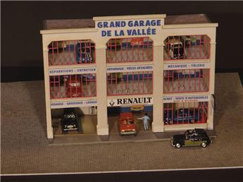 Façade Grand Garage Renault H0