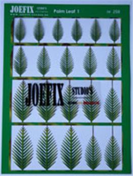 Feuilles palmiers N°1 1/48