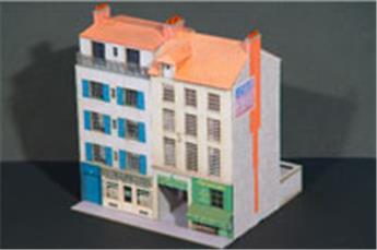 Bloc de 2 immeubles droits 9 au 11- VIL007