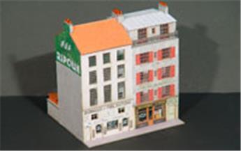 Bloc de 2 immeubles droits, 10 au 12 - VIL008