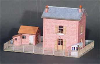 Maison de passage à niveau - Compagnie du NORD