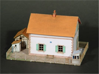 Maison de passage à niveau - Compagnie Alsace-Lorraine