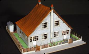 Cité cheminote : Maisons jumelles 1B