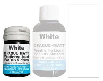 Mélange liquide opaque blanc