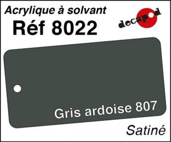 Peinture acrylique Gris ardoise 807 satiné