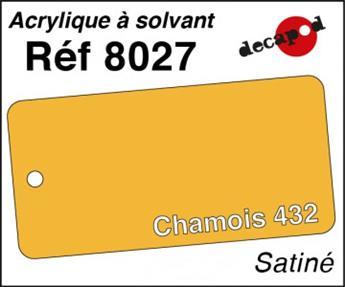 Peinture acrylique Chamois 432 satiné