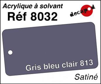 Peinture acrylique Gris bleu clair 813 satiné