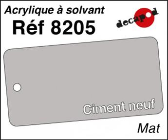 Peinture acrylique Ciment neuf mat