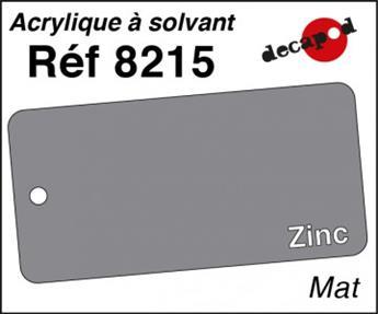 Peinture acrylique Zinc mat