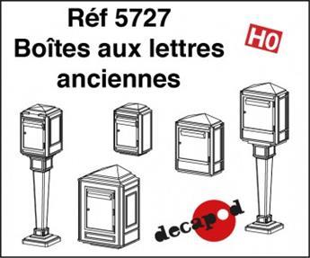 Boîtes aux lettres anciennes