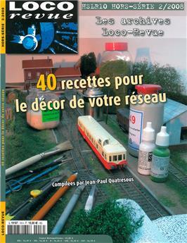 HSLR10 (Hors Série 2/2008) : 40 recettes pour le décor de votre réseau -