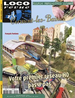 HSLR14 (hors série 2/2009) : Cormont les Bains, 2,5 m2 pour votre premier réseau en HO