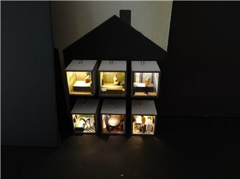 Aménagement de maison 6 pièces