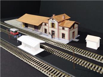 BV Réseau Breton (gare avec draisine statique)